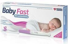 Hydrex Rodzina Zdrowia test ciążowy Baby Fast strumieniowy | DARMOWA DOSTAWA OD 199 PLN!