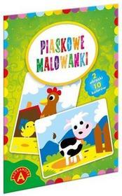 Alexander Piaskowe malowanki Krowa kura