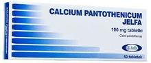 Jelfa PRZEDSIĘBIORSTWO FARMACEUTYCZNE S. Calcium pantothenicum tabl. 0,1 g 50 tabl.