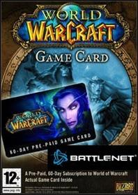 World of Warcraft 60 dni karta pre-paid EU BATTLENET