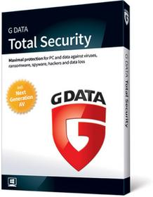 G Data Total Security (Protection) 1PC/1rok Odnowienie 2018