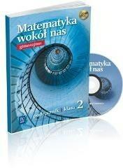 WSiP Matematyka wokół nas. Klasa 2. Podręcznik z płytą CD Ewa Duvnjak, Ewa Kokiernak-Jurkiewicz, Anna Drążek
