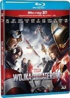 Kapitan Ameryka Wojna bohaterów 3D Blu-Ray + Blu-Ray 3D
