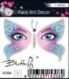 Herma Motyl naklejka do zdobienia twarzy