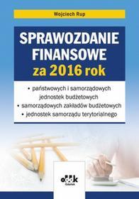 ODDK Sprawozdanie finansowe za 2016 rok - Wojciech Rup