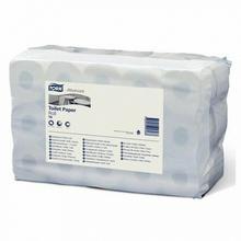 TORK Papier toaletowy w rolkach biały
