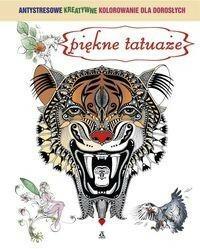 Piękne tatuaże Antystresowe kreatywne kolorowanie dla dorosłych - Amber