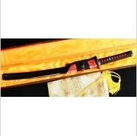 Kuźnia mieczy samurajskich MIECZ SAMURAJSKI WAKIZASHI DO TRENINGU, STAL WYSOKOWĘGLOWA 1095, HARTOWANA GLINKĄ, R323