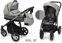 Baby Design Husky 3w1 Szary