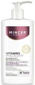 Mincer Pharma Pharma Regenerujący balsam do ciała - Pharma Vitamin Philosophy 1023 Regenerujący balsam do ciała - Pharma Vitamin Philosophy 1023