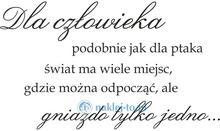 Naklej-to.pl naklejka napis Dla człowieka... naklejki dlaczlowieka01