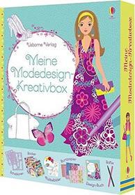 Usborne Publishing Moje projektowanie mody-kreatywna Box 44882366