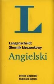 Słownik kieszonkowy Angielski Langenscheidt - Langenscheidt