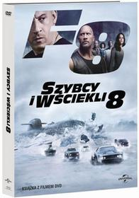 Filmostrada Szybcy i Wściekli 8. DVD + książeczka F. Gary Gray