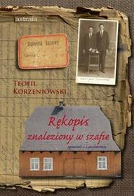 Astraia Rękopis znaleziony w szafie Korzeniowski Teofil