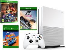 Microsoft Xbox One S 500GB Biały + Sonic Forces + Forza Horizon 3 + Hot Wheels DLC + 6M Live Gold