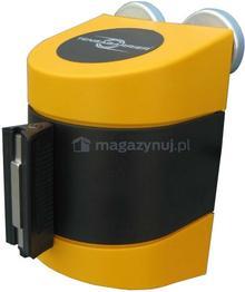 Tensator Taśma ostrzegawcza rozwijana w kasecie mocowanej na magnes. MIDI. Zapięcie standardowe (Długość 3,5 m)