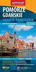 Pomorze Gdańskie. Gdańsk Pomerania. Mapa 1:160 000 (wersja polsko-angielska)