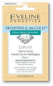 Eveline Diamonds&24k Gold Diamentowa maseczka odmładzająca 3w1 w saszetce 7ml