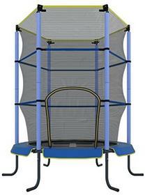 Ultrasport trampolina pokojowa dla dzieci, 140cm, do zabawy i fitnessu, dla dzieci w wieku od 3lat, specjalnie zabezpieczenie z siatki i osłona krawędzi, niebieski, 140 cm 33070000065B