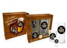 BGtech Zestaw szklanka do piwa + szklanka whisky + kieliszek Niezbędnik mężczyzny 705-00/OP-148-001/PL-5838