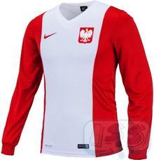 Nike BPOL145js: Polska - koszulka junior