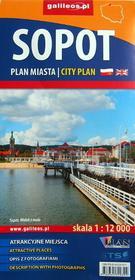 Sopot. Plan miasta