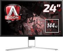 """AOC Agon AG241QX 24"""" czarno-biały"""