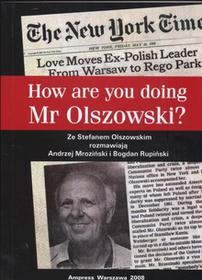 How Are You Doing Mr Olszowski? - Andrzej Mroziński, Bogdan Rupiński
