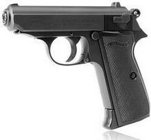 Walther NIEMCY wiatrówka - pistolet PPK/S blow back (5.8315) 5.8315