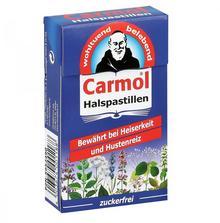 Queisser Pharma GmbH & Co. KG Carmol Pastylki na gardło 45 g