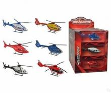 Majorette Helikoptery, 9 rodzajów