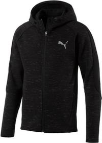 Puma bluza Evostripe SpaceKnit FZ Hdy Cotton Black S