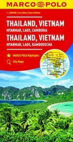 Tajlandia Wietnam Birma Laos Kambodża - MARCO POLO