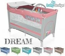 Baby Design Łóżeczko turystyczne Dream 143