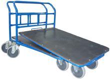WIZ Wózki Wózek platformowy jednoburtowy, wsuwany. Wym. 800x500mm