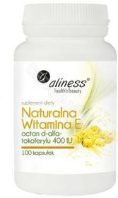 MEDICALINE Aliness Naturalna Witamina E x 100 kaps