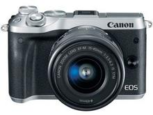 Canon EOS M6 +15-45 IS STM + 55-200 IS STM srebrny