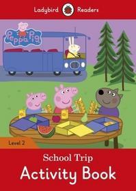 PENGUIN BOOKS PEPPA PIG: SCHOOL TRIP ACTIVITY BOOK - LADYBIRD READERS LEVEL 2