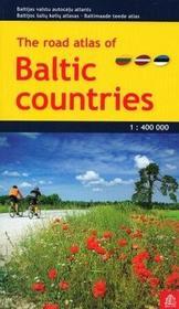 Jana Seta Kraje Bałtyckie atlas samochodowy 1:400 000 Jana Seta