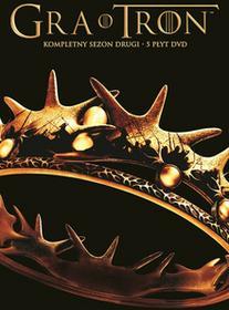 Galapagos Gra o Tron Sezon 2 5 DVD) praca zbiorowa