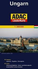 ADAC Węgry mapa 1:300 000 ADAC