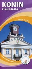 Sygnatura praca zbiorowa Konin. Plan miasta w skali 1:25 000