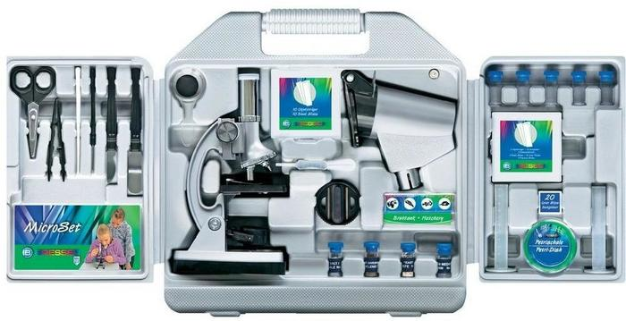 Bresser optik mikroskop dla dzieci optik junior powiększenie