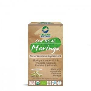 Organic Wellness Moringa Regeneracja Organic Wellnes Indie 90 Kapsułek 5361-59899_20170910195336