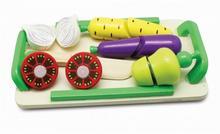 Playme Drewniana deska z warzywami do krojenia na rzepy