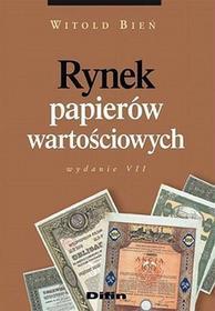 Rynek papierów wartościowych - Witold Bień