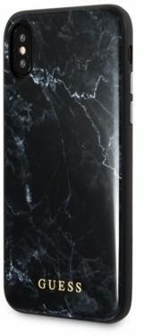 Guess GUHCPXHYMABK hardcase iPhone X czarny