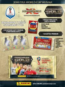 MIKI World Cup FIFA Adrenalyn XL Saszetka Premium Gold