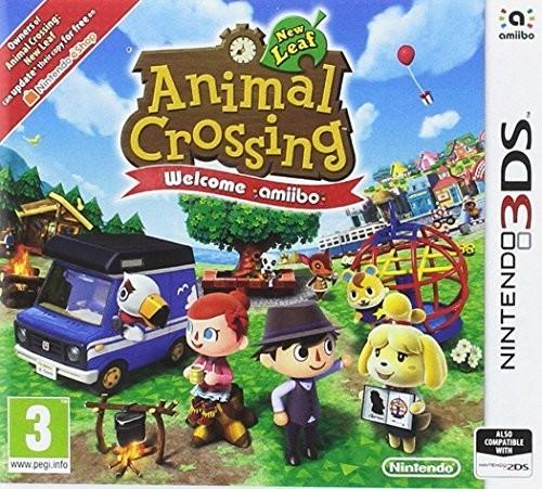Animal Crossing New Leaf Welcome amiibo 3DS